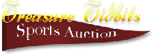 Treasure Tidbits Sports Auction